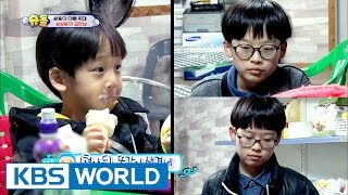 Seoeon & Seojun meet other twins at a supermarket! [The Return of Superman / 2017.04.30]