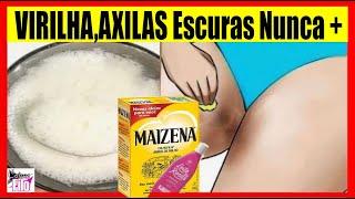 Como Tirar #MANCHAS da AXILAS e VIRILHA usando Leite De Rosas 🔥