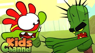 Cactus Attack | Om Nom Cartoon Videos | Stories for Babies from Kids Channel