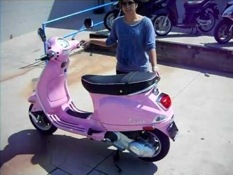Pink 2010 Vespa LX 150