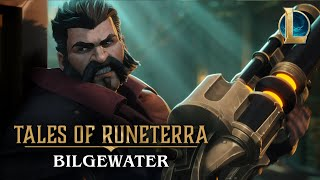 Bilgewater is ripe with opportunity; do you have the coin for it? Play now at https://playruneterra.com  Down on the slaughter docks, Miss Fortune springs a trap for wanted criminals Twisted Fate and Graves… but soon finds the tables turned against her.  Cast: Miss Fortune, the Bounty Hunter Twisted Fate, the Card Master Graves, the Outlaw  EXPLORE THE DANGERS OF BILGEWATER Play as Miss Fortune and Twisted Fate in Legends of Runeterra: https://playruneterra.com/en-us/ See what it takes to survive in Bilgewater: https://universe.leagueoflegends.com/en_US/region/bilgewater/ Discover the world of Runeterra: https://map.leagueoflegends.com/en_US