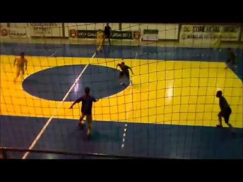 Gols e lances de ABELC 3 x 2 AES