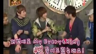 [MR 100123] Seung Hyun (F.T. Island) and SHINee dance battle