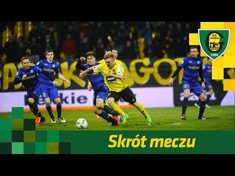 Skrót meczu GKS Katowice - Stomil Olsztyn 2:2