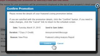 Running Property Promotions in Listingbook