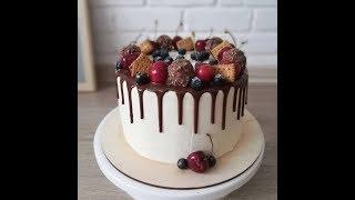 Торт для мужчины.  Приготовление, сборка, украшение