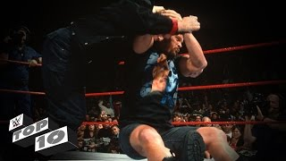 Authority Figures Getting Annihilated: WWE Top 10