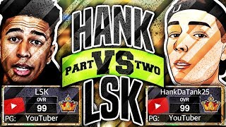 LSK vs HANKDATANK25 • THE REMATCH • DID I GET EXPOSED AGAIN??? - NBA 2K17 MyPARK