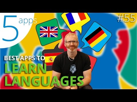 5 Language Learning Apps