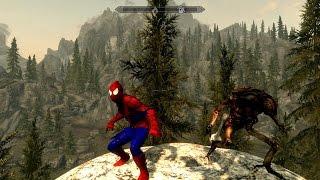 [Skyrim] Обзор модов - 17 - Человек-паук