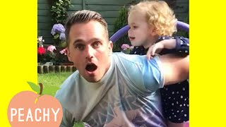 Husbands Finding Out Theyre Going To Be Dads! | Pregnancy Announcements ❤️