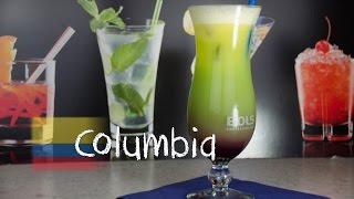 Columbia - Der Fruchtig Farbenfrohe Cocktail