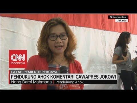 Pendukung Ahok Komentari Cawapres Jokowi