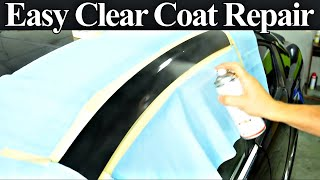 How to Repair Damaged Clear Coat - Auto Body Repair Hacks Revealed