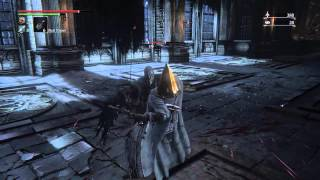 Bloodborne   Killing The Grand Cathedral Hunter (no Cheating) Eileen The Crow Questline