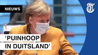 Merkel schrapt paaslockdown: 'Ze zegt: foutje, bedankt!'