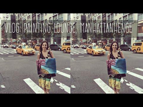 VLOG: Мы художницы. Лучшие десерты Нью-Йорка. Манхэттенхендж. Ольга Рохас | Нью-Йорк