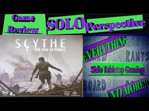 Scythe:  The Rise of Fenris NON-SPOILER Solo Perspective Review