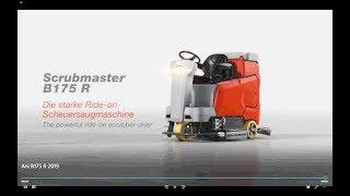 Anspruchsvolle Reinigung, einfache Bedienung!  Die ideale Wahl: Scrubmaster B175 R