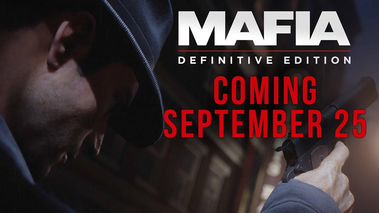 Анонсирующий трейлер игры Mafia: Definitive Edition