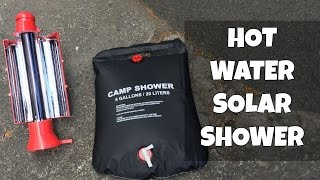 Hot water Solar Shower