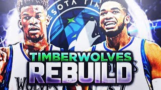 7 90 OVERALLS IN 2 YEARS!! TWOLVES REBUILD!! NBA 2K18