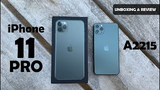iPhone 11 Pro A2215 | iPhone 11 Pro Global Variant | iPhone 11 pro Midnight Green | iPhone 11 Pro
