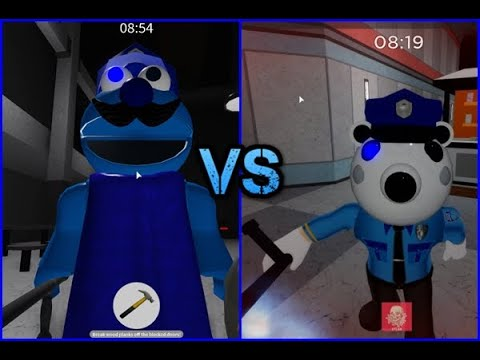 ROBLOX PUPPET POLICEMO VS POLEY PIGGY JUMPSCARES