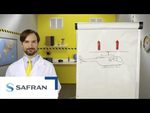 Video Safran : Comment vole un hélicoptère?