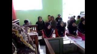 Latihan Marawis SD Negeri Kubangsari Salopa