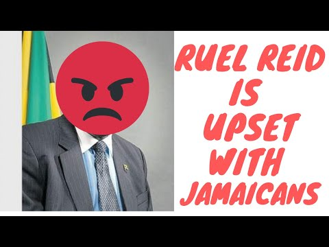Ruel Reid Is Very Disappointed With The People Of Jamaica - Shame On You