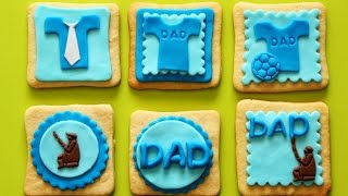 How To Make Fathers Day Fondant Cake Toppers