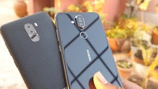 Nokia 8.1 (Nokia X7) VS Xiaomi Pocophone F1 In-depth Camera Comparison - Who Is Better?