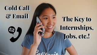 How to Cold Call and Email for Opportunities! Tips for Cold Calling + Tricks for Cold Emailing