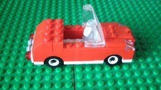 Делаем простой автомобиль из Lego