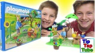 Playmobil Osterhasenschule 6173 Spielzeug Unboxing Video und Geschichte Kinderkanal