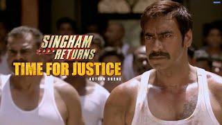 Time for Justice | Singham Returns | Movie Scene | Ajay Devgn | Rohit Shetty