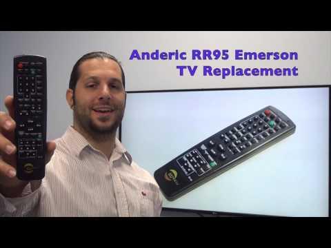 ANDERIC RR95 Emerson TV Remote Control