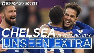 Magical Fabregas Scores Winner v Swansea | Unseen Extra - dooclip.me