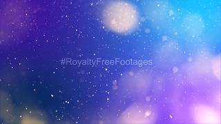 Bokeh lights particle background after effects | colourful bokeh lights - free hd stock footage