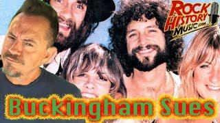 More Fleetwood Mac Drama: Lindsey Buckingham Sues the Band