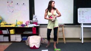 Elementary Nutrition Education With Health Coach Penny