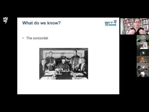 PIUS XII AND THE HOLOCAUST – WHAT CAN WE LEARN FROM THE VATICAN ARCHIVES? - Dr. Iael Nidam-Orvieto