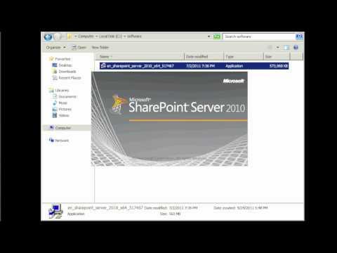 Sharepoint 2010 installation - Part 1