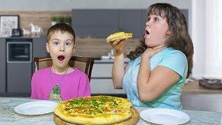 КТО ИСПОРТИЛ Пиццу для МАМЫ? Сережа ВСЕ ПЕРЕПУТАЛ! для детей kids children