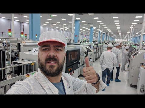 Вьетнам, экскурсия на завод смартфонов VinSmart / Арстайл /