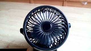 Tragbarer Elektrischer Ventilator mit Aufladbarem 18650 Akku