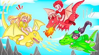We Adopted Magical Dragons In Roblox!