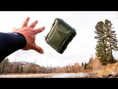 Nanuk 923 Waterproof Case Test   Will it Keep My Macbook Pro Safe?