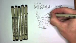 Pen Review: Pigma Micron